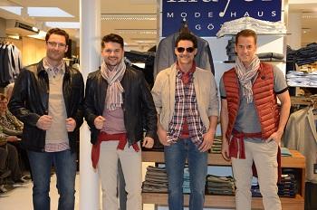 Modenschau Modehaus Mayer März 2016 men