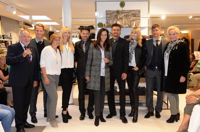 Modenschau Modehaus Mayer März 2016 Models